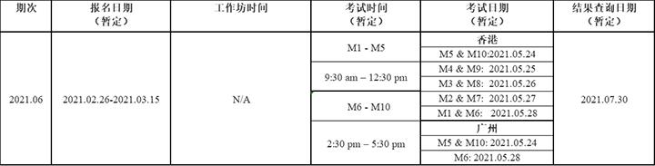 HKICPA考试